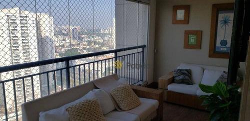 Apartamento Com 3 Dormitórios À Venda, 147 M² Por R$ 1.280.000,00 - Centro - São Bernardo Do Campo/sp - Ap3139