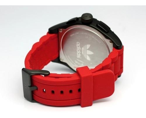acantilado Mata acelerador  Reloj adidas Hombre Rojo Adh2793 En Caja | Mercado Libre