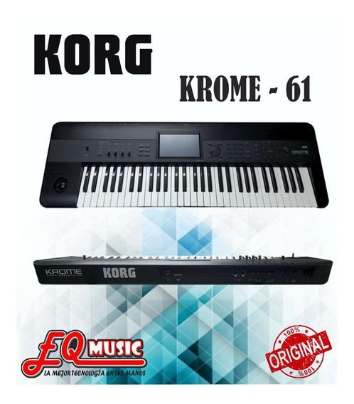 Teclado Sintetizador Korg Krome Nuevos De Paquete En Oferta¡
