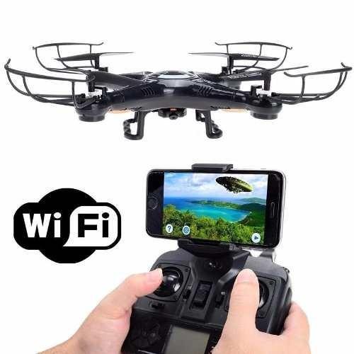 12x Sem Juros Quadricoptero Drone Camera Wifi Tempo Real X5c