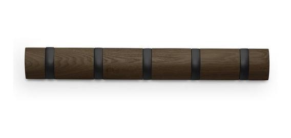 Umbra Perchero Flip Colgante Md (5) Nogal/negro