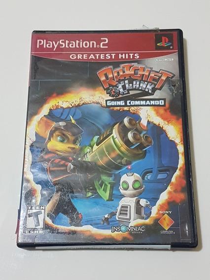 Capa Ratchet Clank Original Para Playstation 2