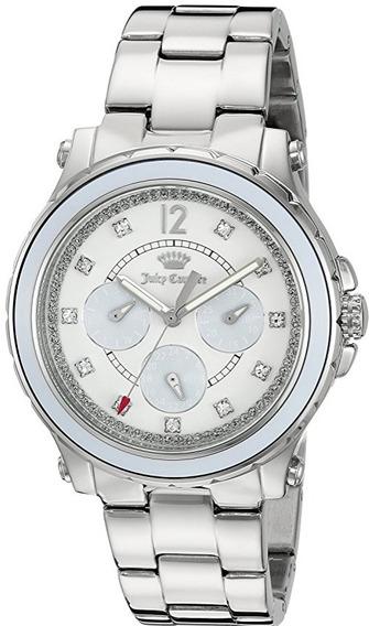 Reloj Juicy Couture Hollywood Fecha/día Acero Mujer 1901381