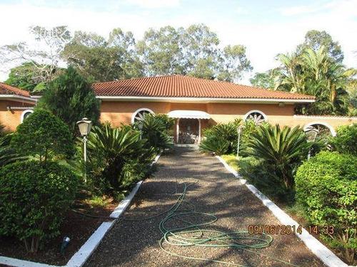 Chácara Com 4 Dormitórios À Venda, Recreio Internacional - Ribeirão Preto/sp - Ch0031
