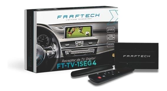 Receptor De Tv Digital Automotivo Faaftech Ft-tv-1seg4