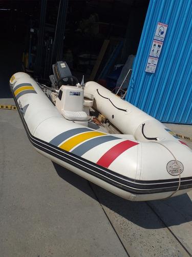 Semirrigido Marlin Con Suzuki 40