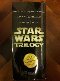 Vhs Star Wars Trilogía Original + La Amenaza Fantasma