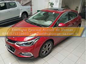 Nuevo Chevrolet Cruze Ltz 1,4n Automatico 4-5 Puertas 0km Ep