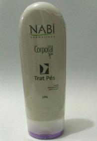 Gel Nabi Trát Pés 120g Desodorante Para O Pé Nabi Cosméticos