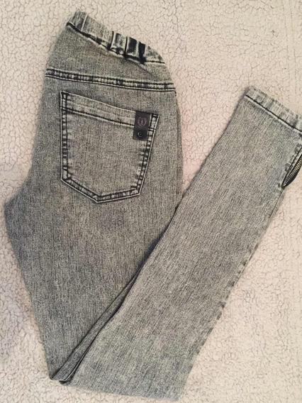Calza De Jeans, Gris Nevada Chupin Ossira