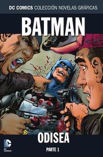Colección Novelas Dc Salvat N° 87 Batman: Odisea Parte 1