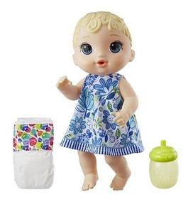 Boneca Baby Alive Loira Hasbro Hora Do Xixi Br0048