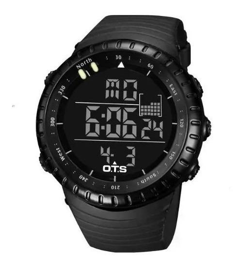 Relógio Esportivo Digital Ots Masculino Militar Pro. Entrega