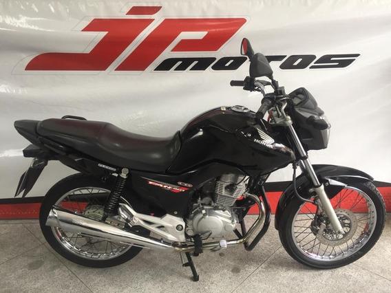 Honda Cg 150 Fan Esdi 2014 Preta