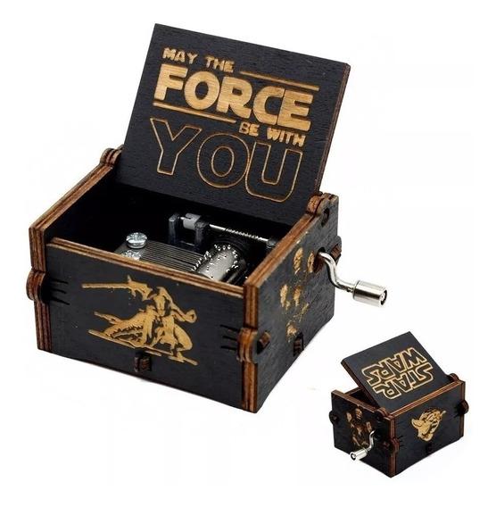 Caixinha De Musica Star Wars(manivela)modelo Premium