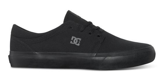 Tenis Zapatilla Dc Shoes Trase Tx 3bk Hombre Original