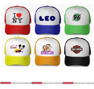 Gorro Trucker Impreso Full Color En Sublimacion