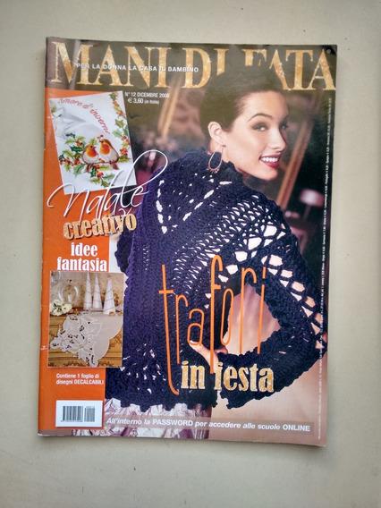 Revista Importada Mani Di Fata 12 Idee Fantasia C809