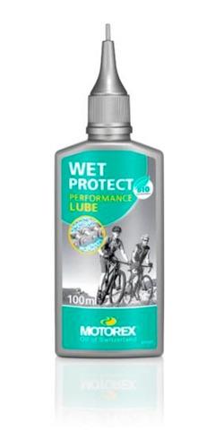 Imagen 1 de 4 de Lubricante De Cadena Bicicleta - Motorex Wet Protect - 100ml