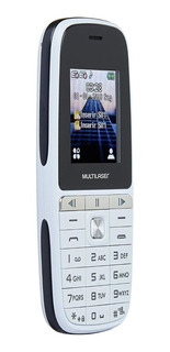 Celular Up Play Dual Chip Mp3 Bluetooth Câmera Multilaser