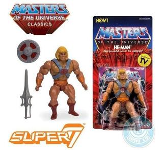 Motu Master Of The Universe He-man Super7