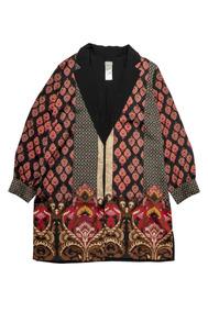 Damask-print Jacket Chico´s