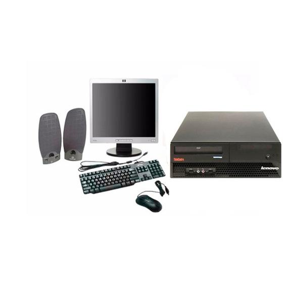Computador Completo Lenovo Core 2 Duo 04gb Ram Wi-fi 160 Hd