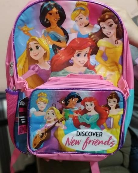Mochila Princesas Disney (cada)