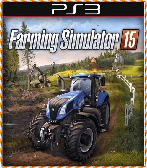 Farming Simulator 15 Ps3 Pt Br Psn Jogo Original Envio Rápi