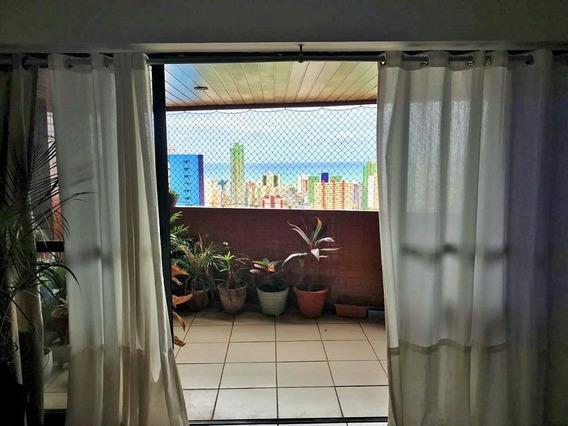 Apartamento Em Miramar, João Pessoa/pb De 170m² 4 Quartos À Venda Por R$ 620.000,00 - Ap300916