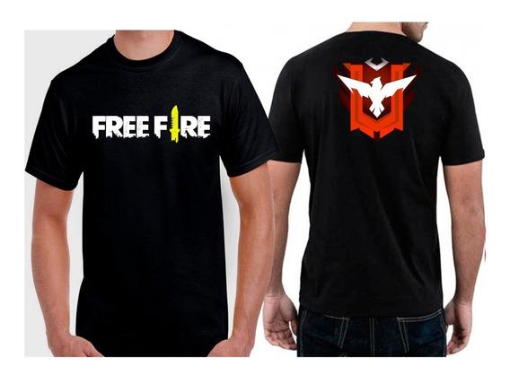 Camiseta Free Fire Mestre