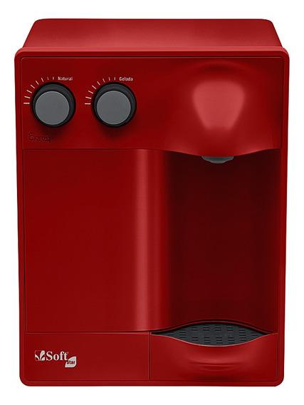 Purificador Água Refrigerado Por Compressor Soft Star Cereja