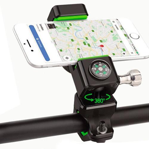 Suporte Guidão Universal Bike Luxo Moto Gps Celular Trilha