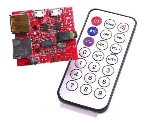 Placa Audio Bluetooth 4.1 Mp3 3w Amplificador Udisk