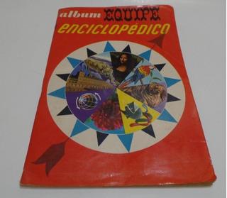 Álbum De Figurinhas Equipe Enciclopédico.1966. Completo.