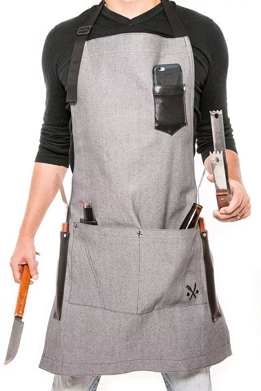12 Mandiles Para Chef Premium, Personalizados Bordados