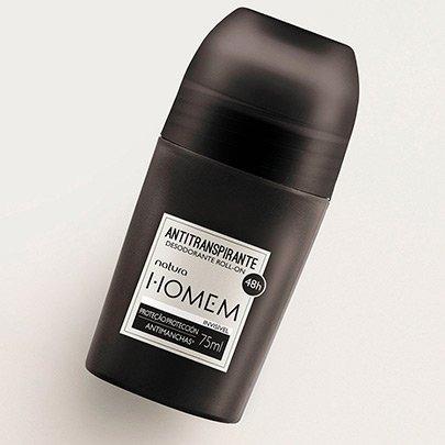 Natura Homem Desodorante Antitranspirante Roll-on - 75 Ml