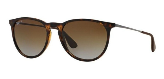 Oculos De Sol Ray Ban Erika Rb4171l 710/t5 54 Polarizado
