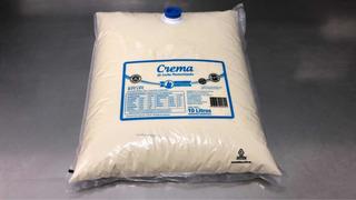 Crema De Leche Al 39%. X 10lt. Producto Premium
