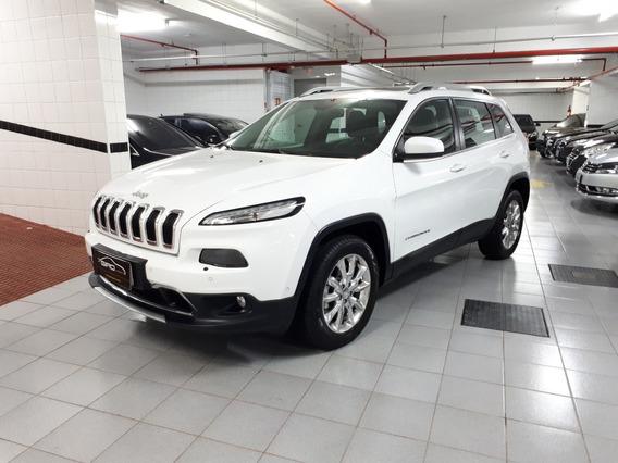 Jeep Cherokee 3.2 Limited 4x4 V6 24v 4p Aut 2015/2015 Branco