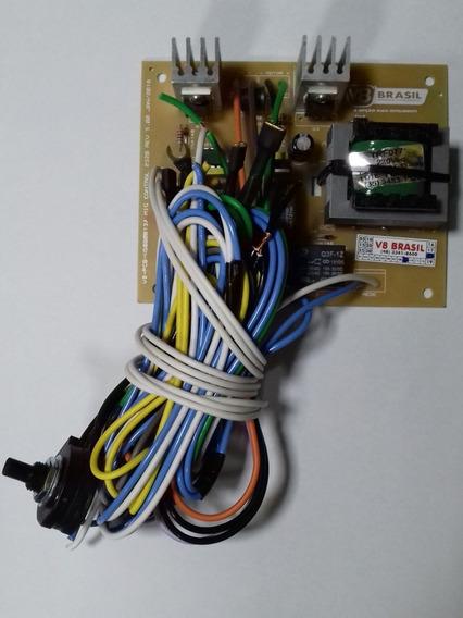 Circuito Controle Mig V8 195 205 Com Valvula E Contator 220v