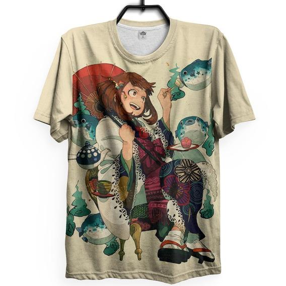 Camiseta Boku No Hero Academia Uraraka Oriental Anime Gy