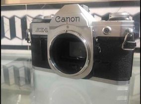 Câmera Analógica Semi Profissional Canon Ae-1