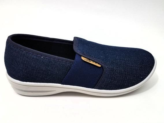 Zapatillas De Dama De Jeans