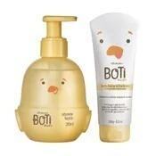 Combo Boti Baby Banho: Sabonete Líquido +loção Hidratante