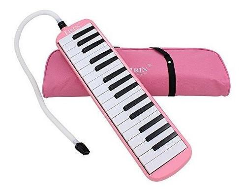Ammoon 32 Teclas De Piano Melodica Instrumento De Educacion