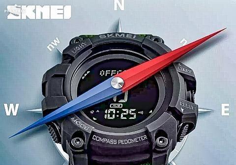 Relógio Digital Skmei 1358 +20 Funções - Orig. Preciso, Top!