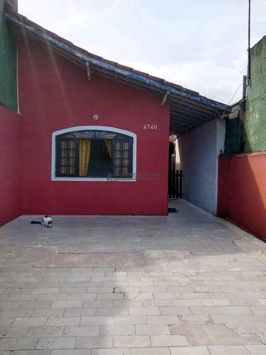 Casa Com 2 Dorms, Melvi, Praia Grande - R$ 265 Mil, Cod: Ca7335 - Vca7335