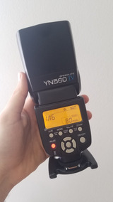 Flash Yongnuo Speedlite Yn-560 Iv Lv Nikon Canon