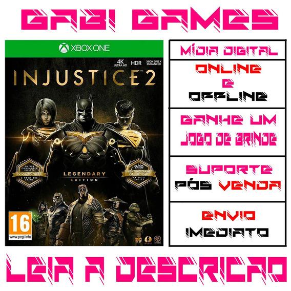 Injustice 2 Edição Lendária Xbox One Digital Offline+ Brinde